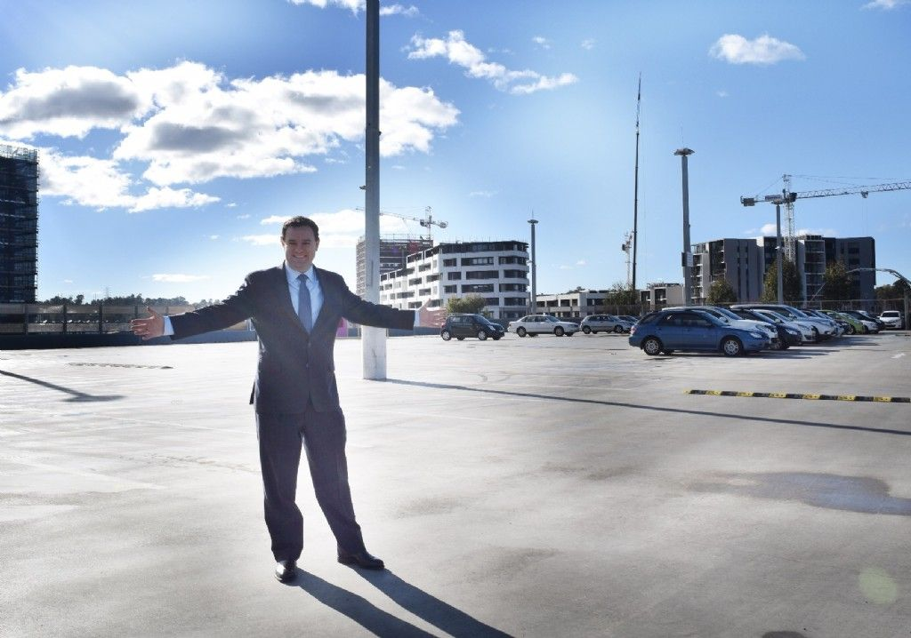 New Parking Spaces Open at Penrith Station