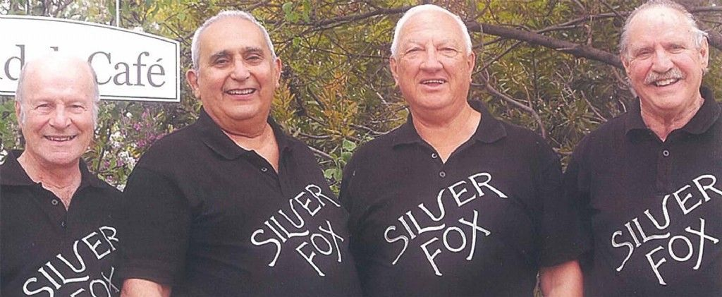 Singers of Note - Silver Fox Barbershop Quartet